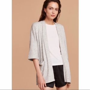 Aritzia - Wilfred Zlata Cardigan // Light Grey